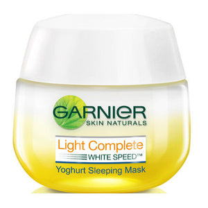 Garnier Light Complete Yoghurt Sleeping Mask Whitening Night Cream 50ml