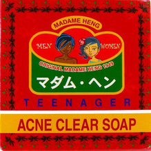 Load image into Gallery viewer, Madame Heng Merry Bell Teenager Acne Clear Thai Herbal Soap 150 grams