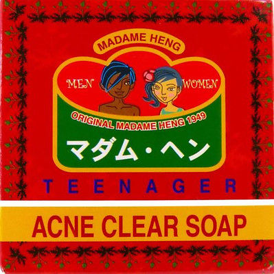 Madame Heng Merry Bell Teenager Acne Clear Thai Herbal Soap 150 grams