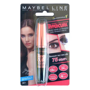 Maybelline Hypercurl Volum' Express Waterproof Mascara Black