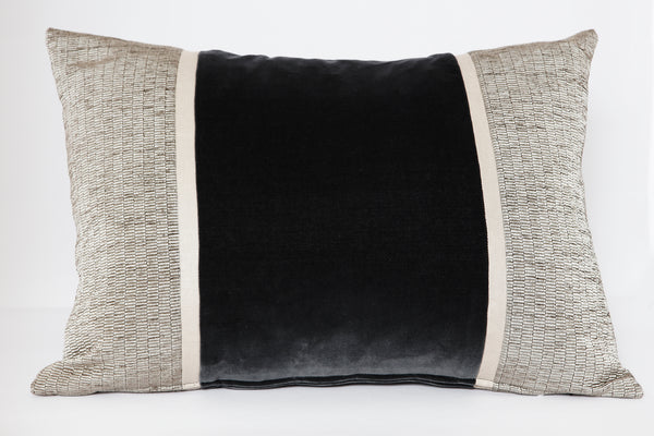 Velvet Panel Cushion by HK Edit