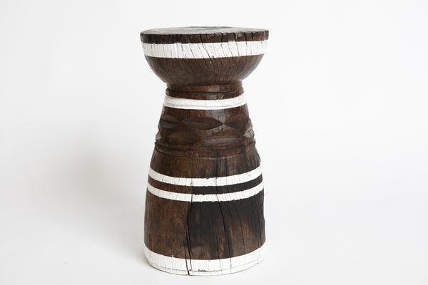 Lozi Mortar Zambia - White Stripe