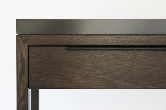 NASH Two Drawer Console with Tray Top || HK Edit by Hare + Klein