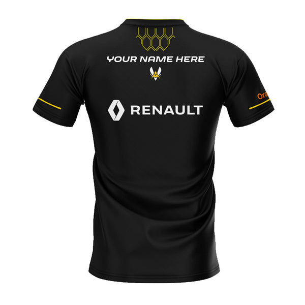 Maillot Officiel Renault Sport Team Vitality - WORLD CHAMPION - Floqué