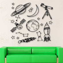 Astronomy Tool Wall Stickers