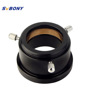 "SVBONY 1.25"" M42x0.75 to 1.25"" Adapter w/Brass Compression Ring"