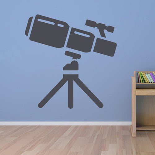 Telescope Wall Stickers Removable Vinyl