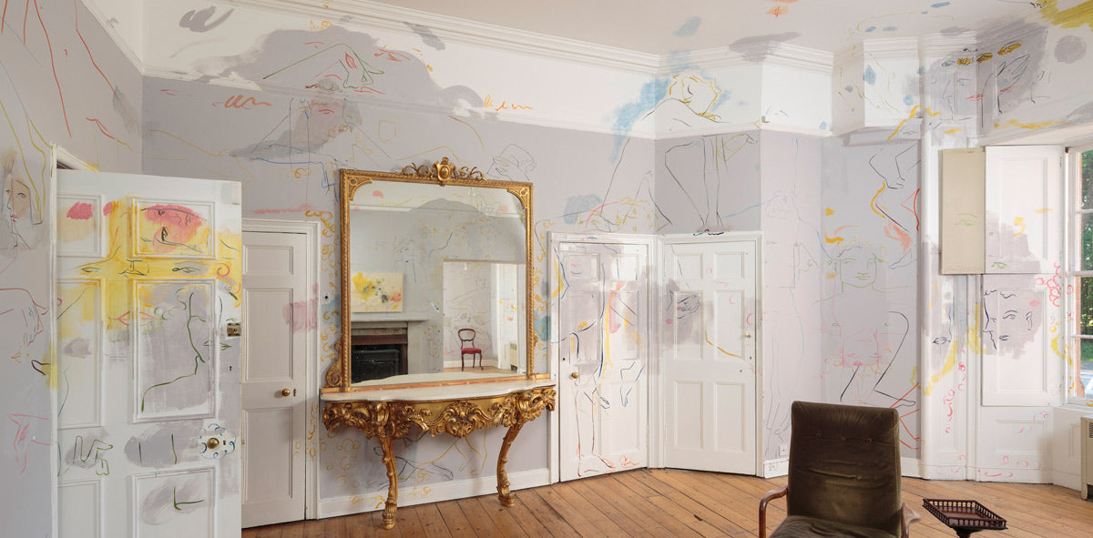 drawing room intervened by france-lise mcgurn