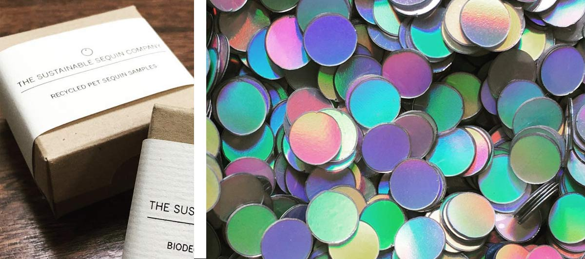 Sustainable sequin co packaging &  sequins