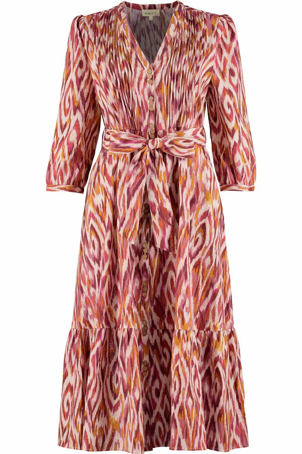 Rhiannon Cotton Khadi Midi Dress