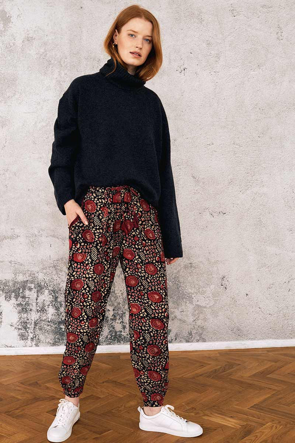 Aarti Print Woodblock Trouser