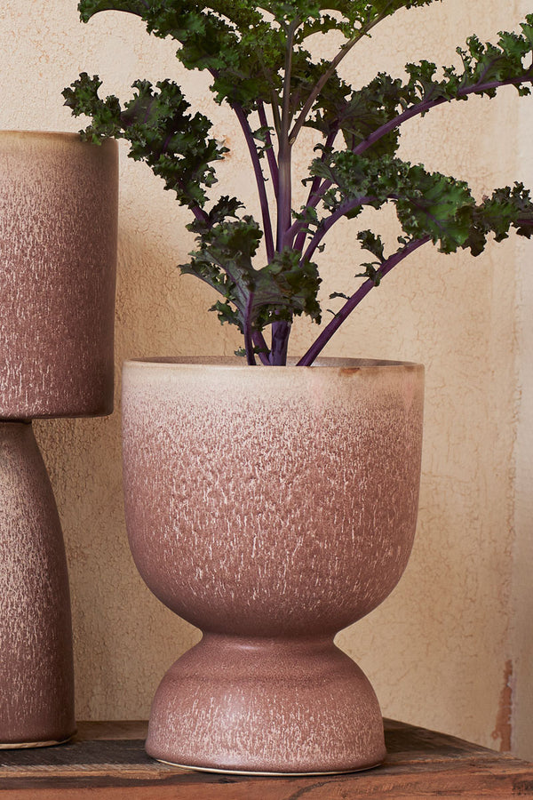 Stoneware Flower Pot