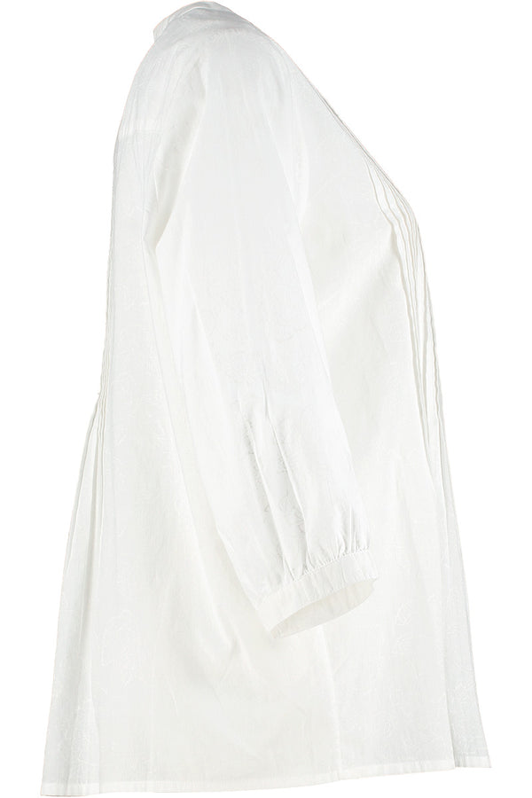 Daria Organic Cotton White Shirt