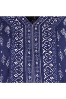Garima Navy Printed Top