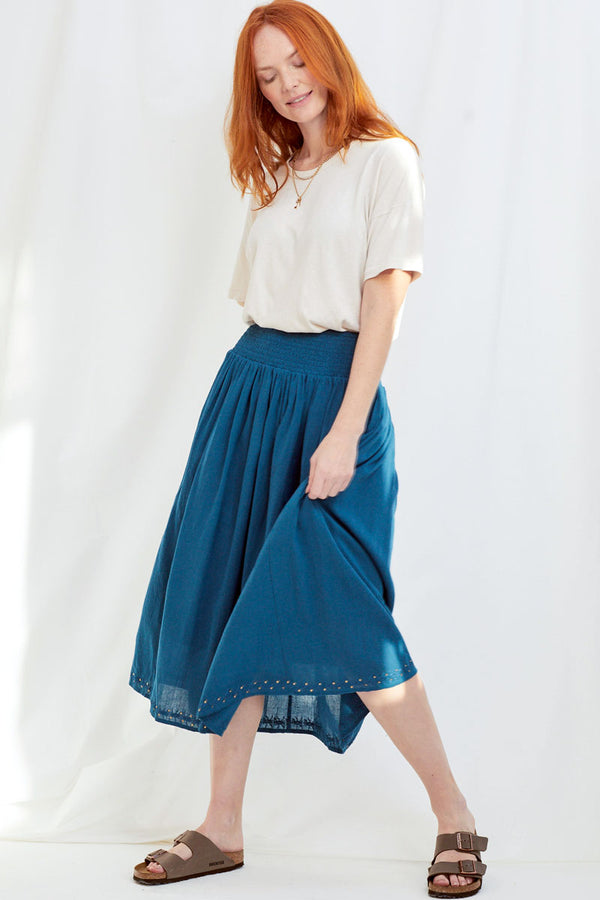 Kendal Organic Cotton Maxi Skirt