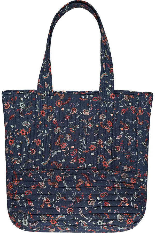 Lilian Quilted Tote Bag