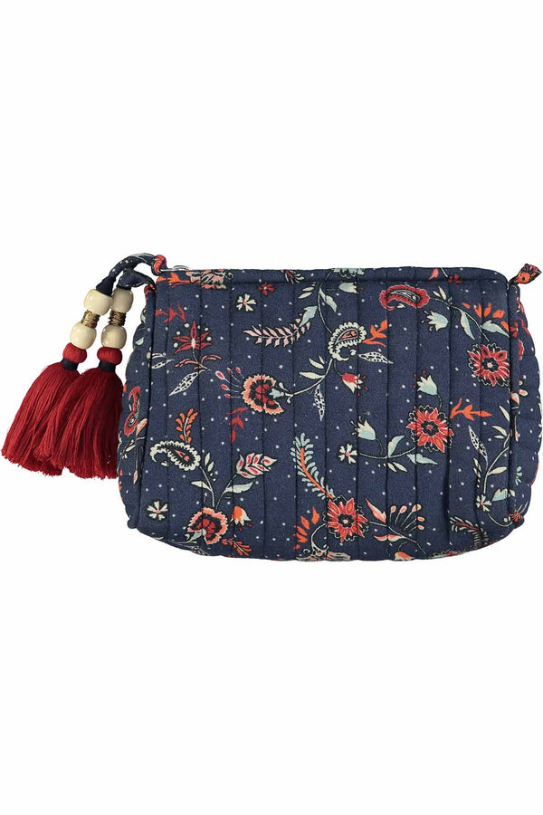 Lilian Quilted Makeup Bag