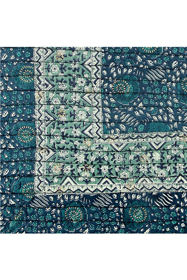 Myra Organic Cotton Woodblock Quilt