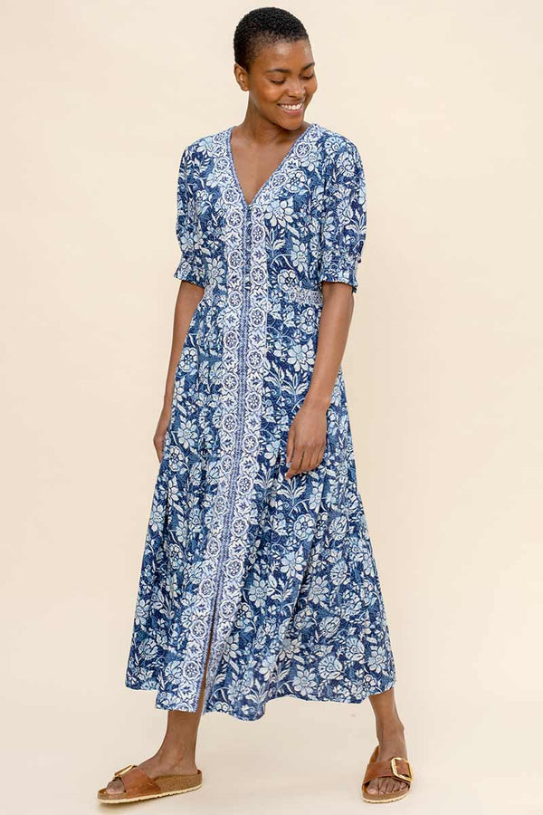 Savannah Printed Maxi Dress