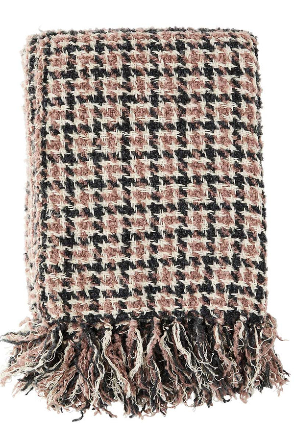 Checked Wool Throw