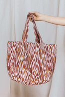 Rhiannon Print Quilted Tote Bag