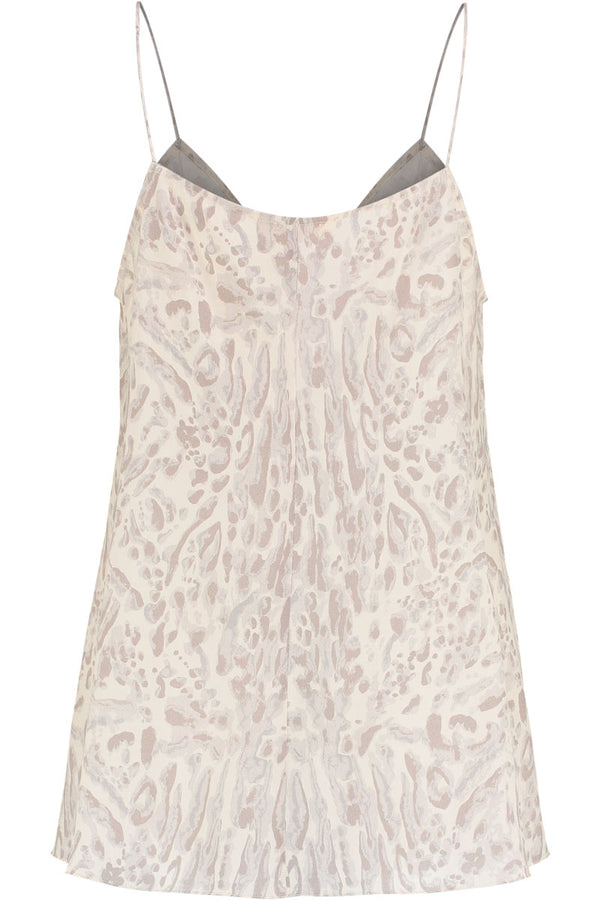Frances Silk Animal Print Cami