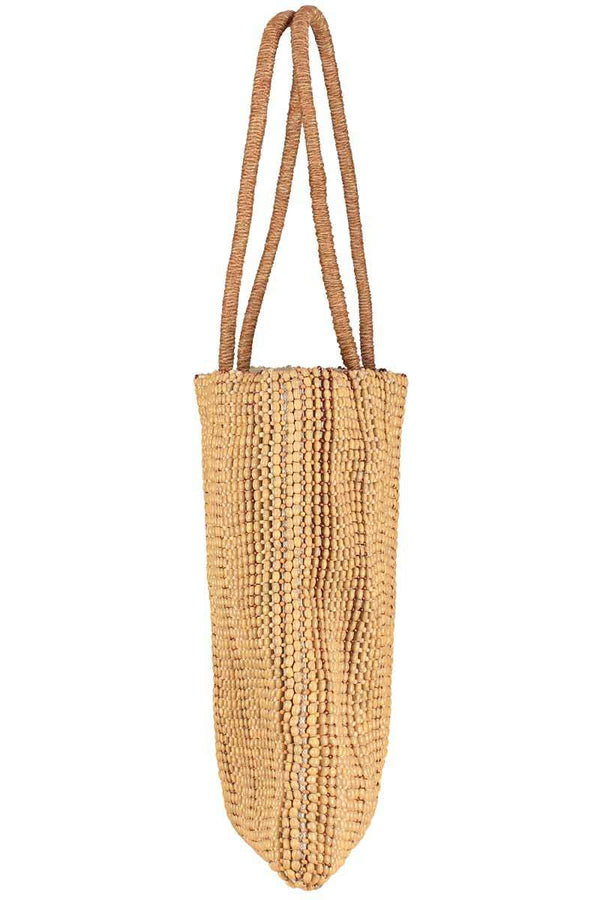 Olivia Beaded Shopper Tote Bag