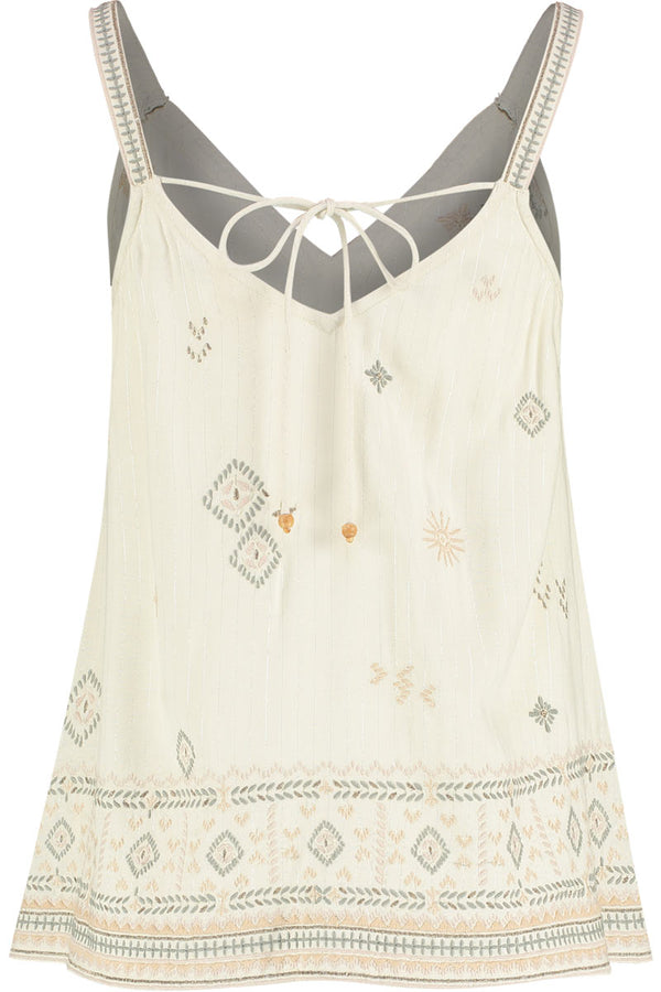 Tilly Embroidered EcoVero Cami