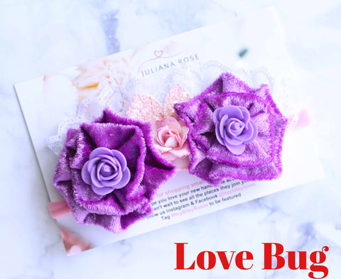 Love Bug Rose Crown