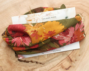 Fall Floral Headwrap