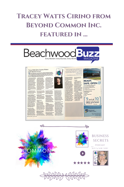 Beyond Common Featured in Beachwood Buzz Magazine