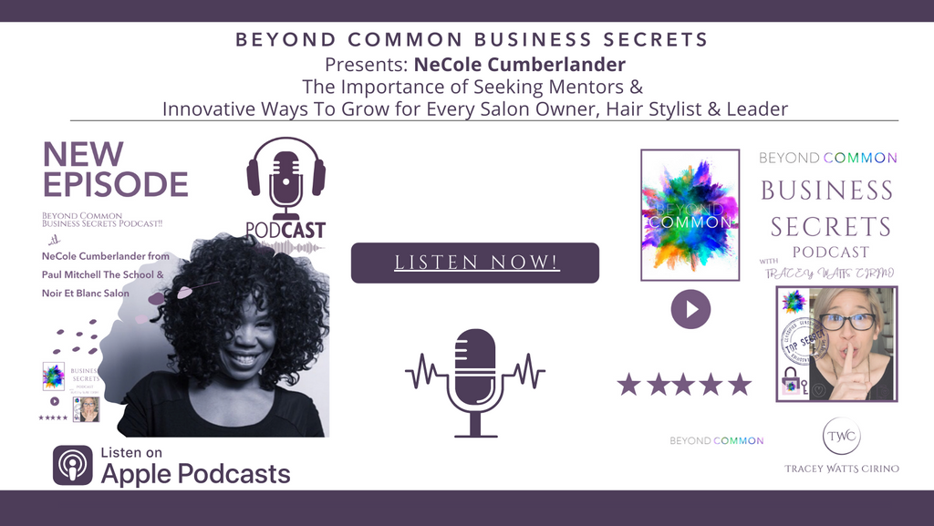 Why Every Great Salon Owner needs to Seek Out New Mentors And New Innovative Ways To Grow.