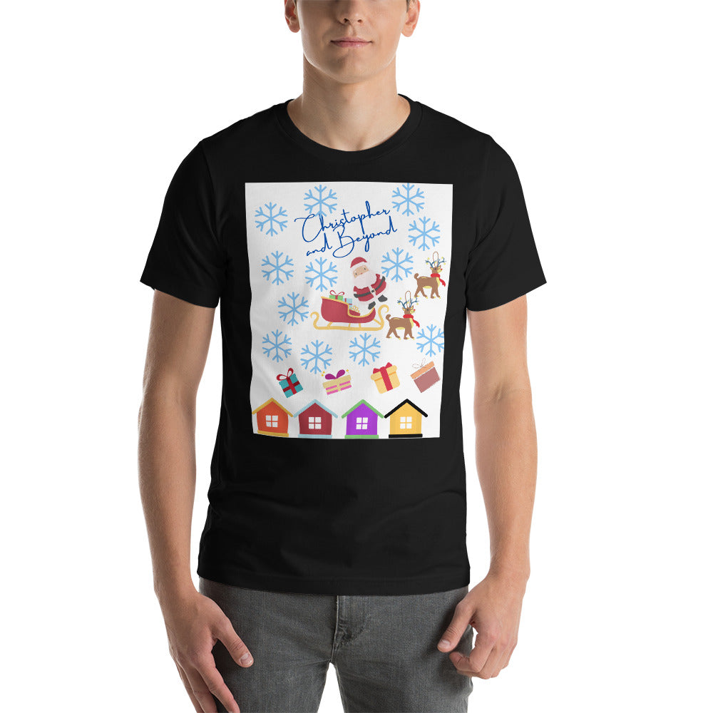 Christopher and Beyond Adult Holiday Short-Sleeve Unisex T-Shirt