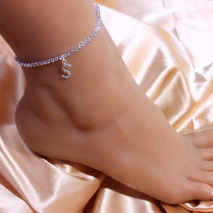 Gifted Luvv Initial Anklet - Gifted Luvv