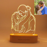 Gifted Luvv Personalized 3D Lamp