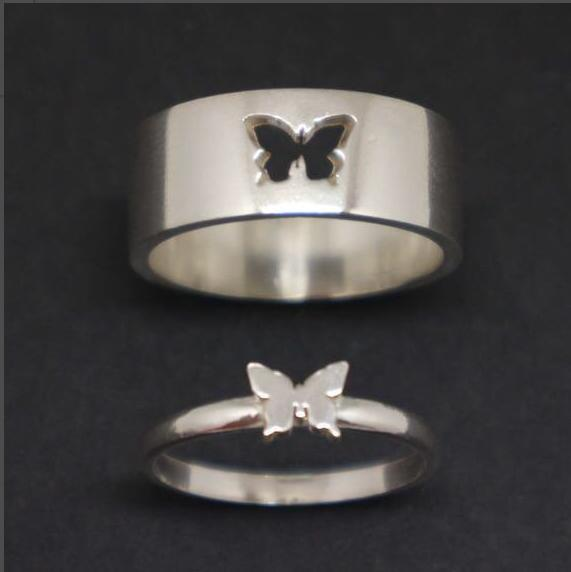 Matching Luvv Butterfly Rings - Gifted Luvv