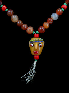 113 Face bead necklace