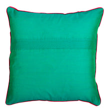 Load image into Gallery viewer, Phulkari Block Printed Decorative Throw Pillow Cover