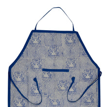 Load image into Gallery viewer, Apron Traditional Tiger Block Print