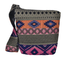 Load image into Gallery viewer, The Boho Style Ballona Messenger Bag - Pink/Orange
