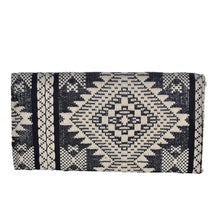 Load image into Gallery viewer, The Mohali Clutch Purse - Black/White