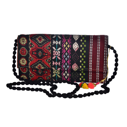 The Mohali Clutch - Red/Black