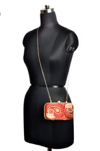 Load image into Gallery viewer, The Rani Clutch Purse - Red