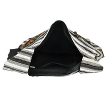 Load image into Gallery viewer, The Boho Style Hathi Messenger Bag - Black/White