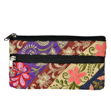 Load image into Gallery viewer, The Ladoo Clutch Patchwork Boho Purse