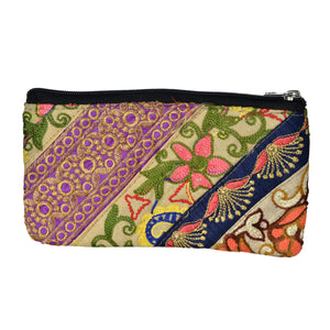 The Ladoo Clutch Patchwork Boho Purse