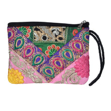 Load image into Gallery viewer, The Pari Wristlet Clutch Purse- Purple/Pink