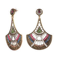 Load image into Gallery viewer, Indian Chandelier Style Beaded Earrings