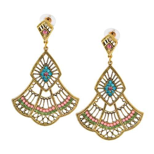 Indian bohemian Chandelier Earrings For Women