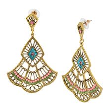 Load image into Gallery viewer, Indian bohemian Chandelier Earrings